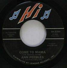 Soul 45 Ann Peebles - Come To Mama / I'M Leavin' You On London Records