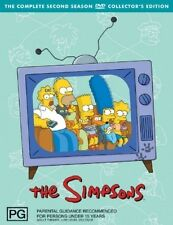 THE SIMPSONS (COMPLETE SEASON 2 DVD SET BRAND NEW + FREE POST)