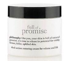 Philosophy Full of Promise Dual-Action Restoring Cream 4 oz LUXURY SIZE! SEALED~