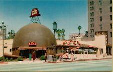 VTG The Brown Derby Restaurant Coffee Shop in Los Angeles California CA Postcard