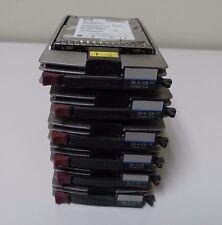 """Lot of 6 176496-B22 HP 36.4 GB 10K 3.5"""" Hard Drives 176496-B21 177986-001 36GB"""