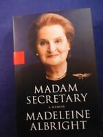 "Madeleine Albright Signed ""Madam Secretary: with COA"