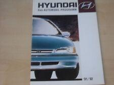 53279) Hyundai S-Coupe Pony Lantra Sonata Prospekt 1992
