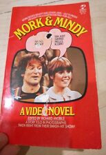 Mork and Mindy - A Video Novel - 1979 Photos Robin Williams Vintage Paperback