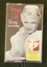 Peggy Lee The Lady is a tramp. Platinum collection PLAT 078 cassette