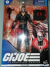 "2020 HASBRO G.I. JOE CLASSIFIED SERIES 6"" ACTION FIGURE DESTRO - IN HAND - New"