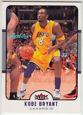 2006-07 FLEER BASE CARD: KOBE BRYANT #85 LOS ANGELES LA LAKERS MVP