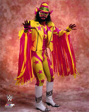RANDY MACHO MAN  SAVAGE UNSIGNED 8x10 PHOTO FILE WWE WWF LEGEND OUT OF PRINT