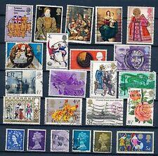 Gestempelte Briefmarken aus den britischen Kolonien