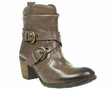 Hush Puppies 100% Leather Block Heel Boots for Women