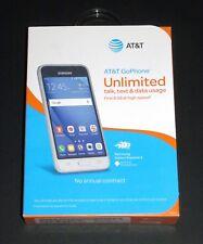 "Brand New Sealed Samsung Express 3 AT&T Prepaid 8GB 4.5"" White 4G LTE Smartphone"