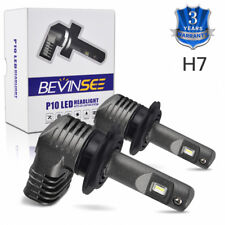 BEVINSEE H7 For Ducati Multistrada 620 1000 1100 S Headlight High Low LED Bulbs