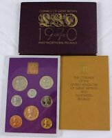 1970 GREAT BRITAIN  / NORTHERN IRELAND UK PROOF SET (8) - LAST L.S.D. COINS