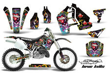 Honda CR500 CR 500 Graphics Kit Dirt Bike Wrap MX Stickers Decals 89-01 EDHLK K