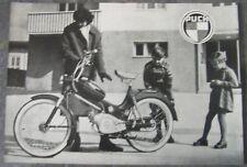 ORIGINAL PUCH Prospekt MS 50 MS50L 1956 STEYR DAIMLER WIEN ÖSTERREICH OLDTIMER