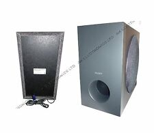 SONY DVD Blu-Ray Home Theatre Cinema Passive Subwoofer Sub 250W S8+speaker cable