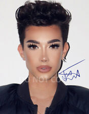 """James Charles model make-up artist reprint SIGNED 8x10"""" Photo #2 Autographed"""