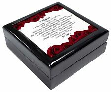 Mothers Day Poem Sentiment Keepsake/Jewellery Box Christmas Gift, MUM-2JB