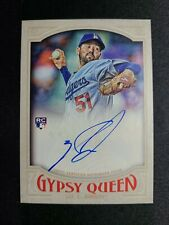 J80 2016 Topps Gypsy Queen AUTOGRAPH ZACH LEE Los Angeles Dodgers ON CARD AUTO