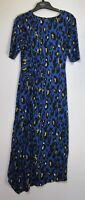 New Marks & Spencer Per Una Animal Print Jersey Bodycon Dress Size 6 - 18