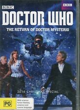 Doctor Who - The Return of Doctor Mysterio (1 DVD) - Region 4 - Brand New