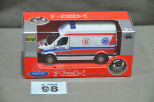Welly Nex Pogotowie Ambulance Mercedes Sprinter Panel Van Diecast Model New 1:34