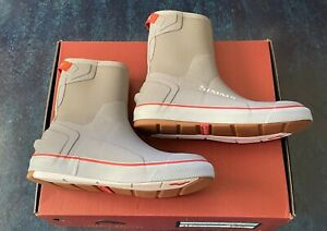 Simms Fishing Challenger Pull On Deck Boots Size 11
