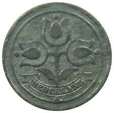 (F56) - Niederlande Netherlands - 10 Cents 1942 - Tulpen - XF - KM# 173