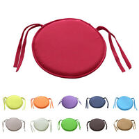 Circular/Round Bistro Tie-on Kitchen/Dining/Patio Chair Seat Pad Cushions SK