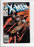 Uncanny X-Men #212 by Claremont & Leonardi Wolverine vs Sabretooth Marvel 1986
