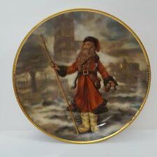 Duncan Royale History of Santa Portraits Plate Full Size Plate Victorian