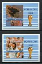 s6329) ST.VINCENT & GR. 1990 MNH** WC Football'90 - CM Calcio S/S