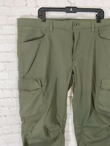 Under Armour Enduro Tactical Cargo Pants Mens 42x32 Storm Water Resist Mod Green