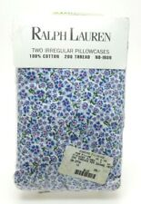 Ralph Lauren Floral/Flower Pattern Cotton Set  2 Irregular Standard Pillowcases