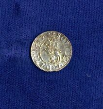 LITHUANIA  JOHN CASIMIR  1652  1 SCHILLING (BILLON) COIN, XF/AU, NICE