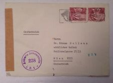 Brief Schweiz Allierte Zensurstelle Z1 14078A