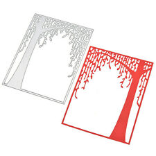 Tree Wicker Metal Cutting Dies Stencil Scrapbooking Cards Paper Embossing Craft