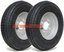 "400x8 4.80/4.00-8 Trailer Wheels & Tyres  4 Ply Road Legal  8 Inch Rim   4"" PCD"