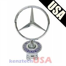 Brand NEW Mercedes Benz Front Hood Mounted Star Emblem OEM# A2108800186 Chrome