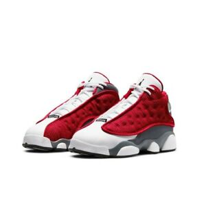 Nike Air Jordan 13 Retro Gym Red Flint Grey 884129-600 Size 7Y GS