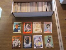 NEW YORK YANKEES LARGE 400 CARD LOT, INSERTS, ROOKIES & PARALLEL CARDS ONLY