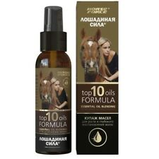 Oil mixture TOP 10 OILS FORMULA, Horse Force, 100ml - For growth and deep hair