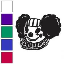 Clown Evil Scary Decal Sticker Choose Color + Size #173