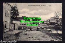 118901 AK Morsheim Morville bei Wich Lothringen 1915