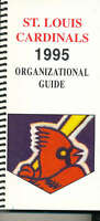 1995 St. Louis Cardinals Organization Record book Guide bxorg2