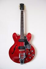 Gibson Custom ES330 Vintage Cherry 2012 + guitar case + strap + spare strings