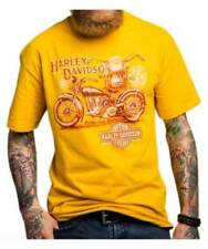 Harley Davidson Pride and Heritage gold Shirt Nwt Men's XXXL