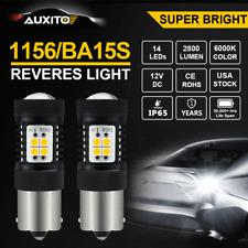 CREE 1156 BA15S 7506L P21W LED Backup Reverse Lamp DRL ULTRA BRIGHT WHITE AUXITO