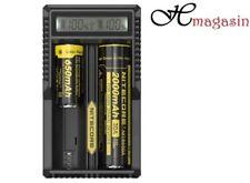 Nitecore UM20 LCD Intelligence ALIMENTAZIONE USB Caricabatterie per Li-ion mortalità infantile 18650 BATTERIA