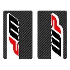 4MX Fork decals Wp Carbone Stickers FITS KAWASAKI KLR650 C1-C8 95-03